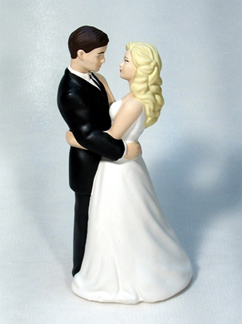 Dance With Me Bride and Groom Wedding Cake Top
