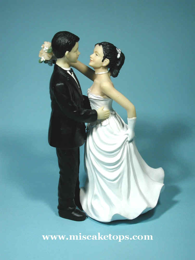 Ethnic Variations Of Brides And Grooms For Lovesong Wedding Figurine