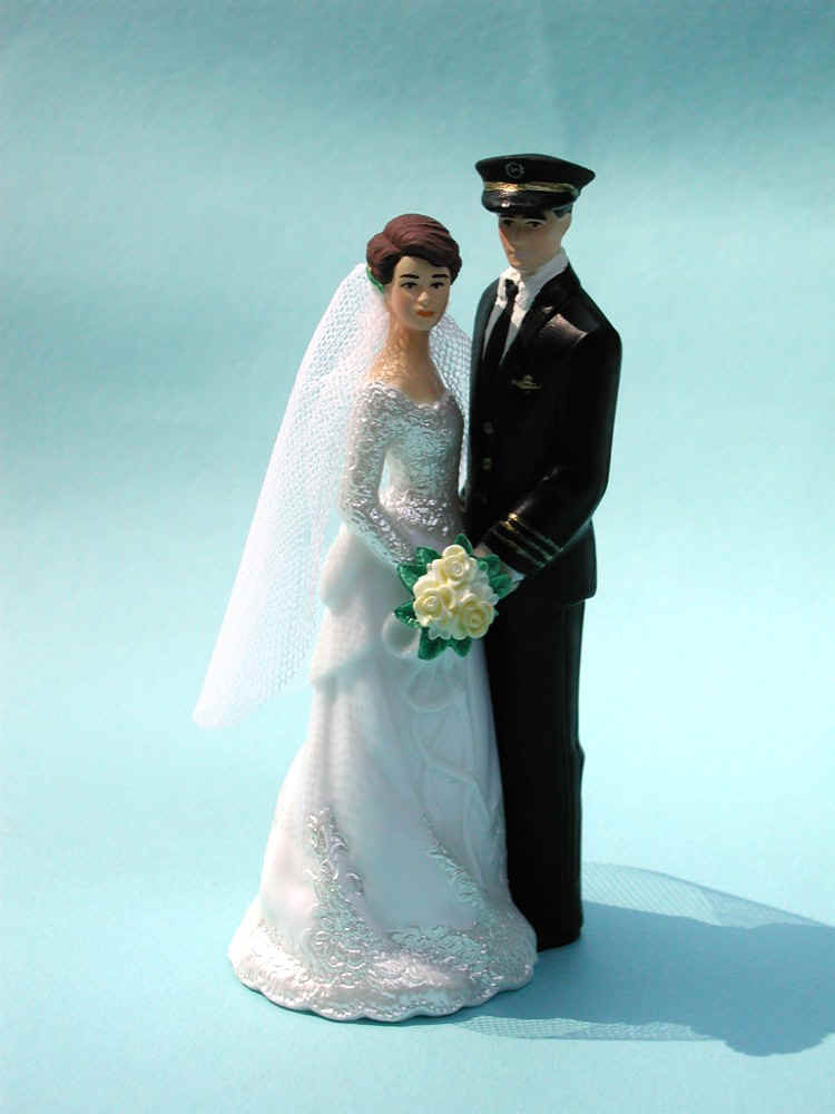 Navy Seal Wedding Cake Topper