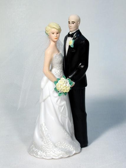 Personalized Customized Wedding Bride And Groom Wedding Cake