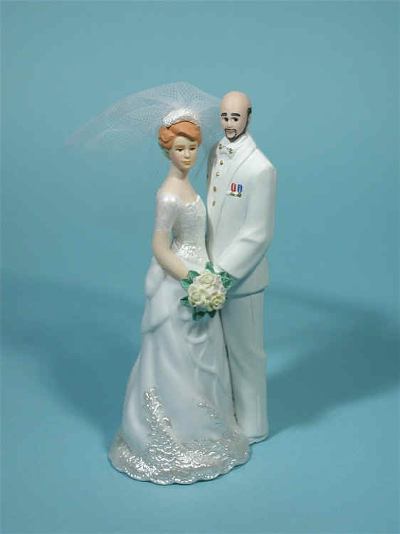 wedding cake toppers bald groom wedding cake topper with bald groom exles of 26387