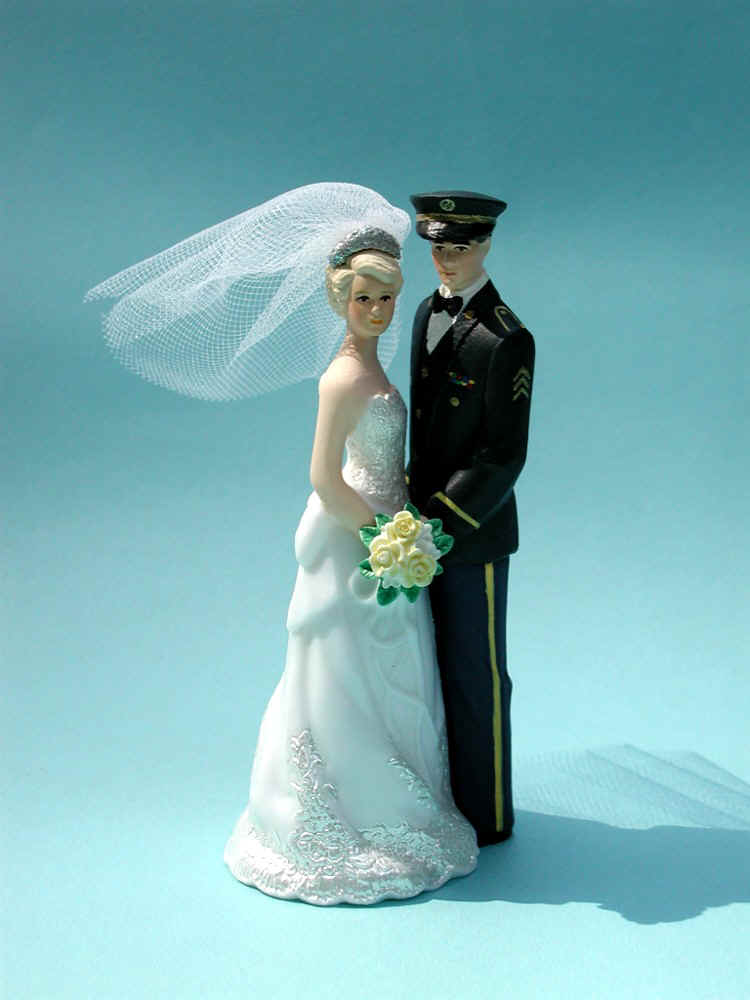 Armed Forces Cake Toppers