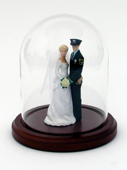 Wedding Cake Topper Display
