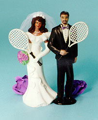 tennis wedding cake topper interests and hobbies wedding cake tops 20798